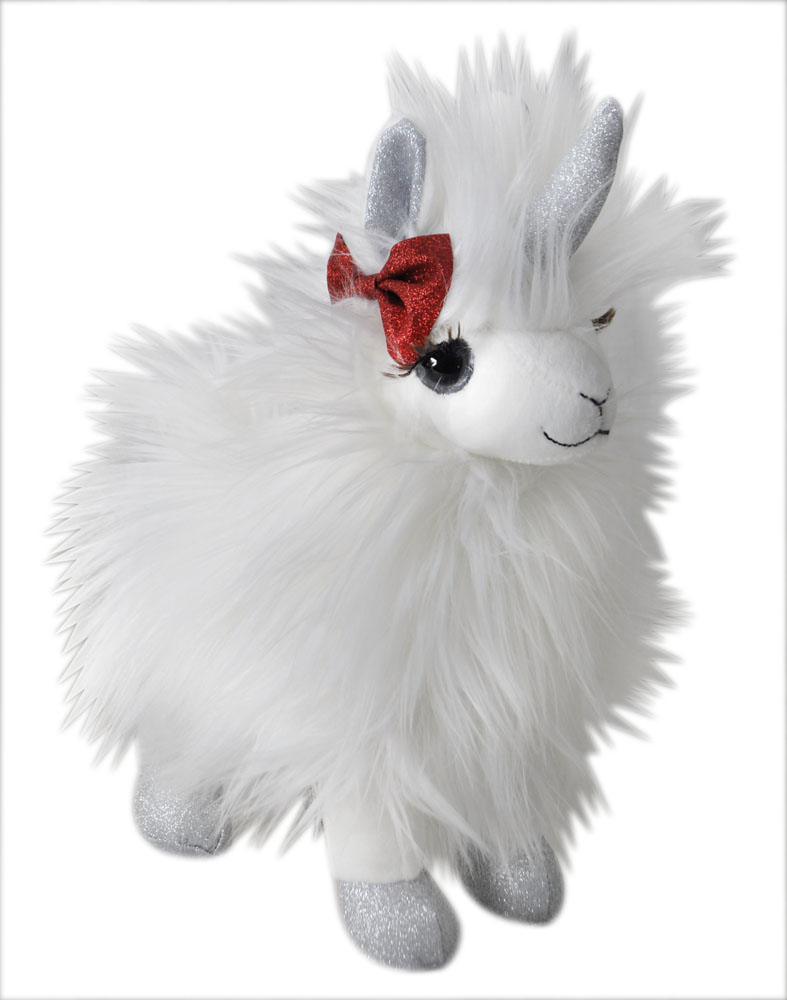 "The Petting Zoo: 10"" Holiday Llamacorn Maisy"