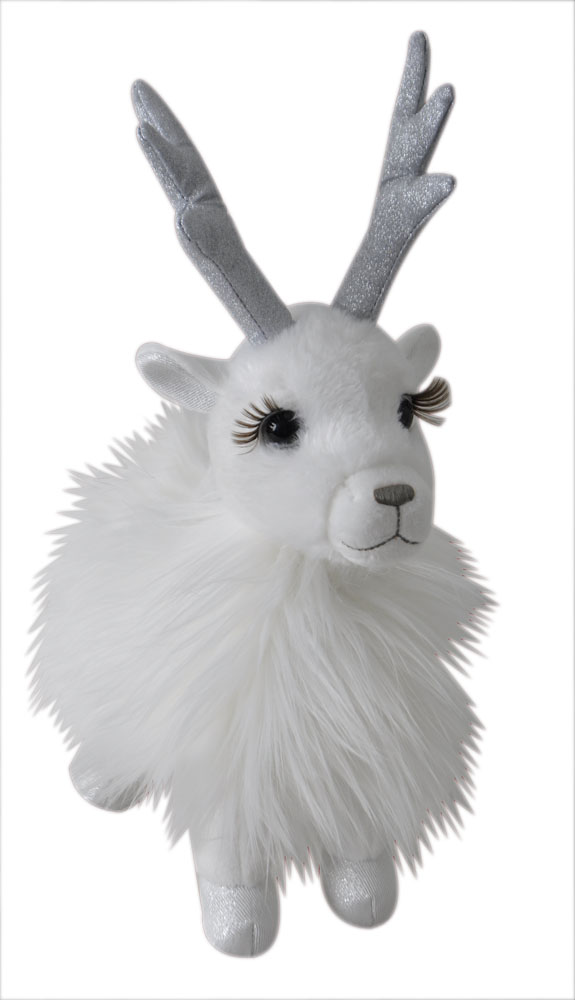 "The Petting Zoo: 11"" Holiday Reindeer Snowy"