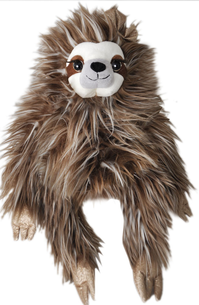 "The Petting Zoo: 19"" Holiday Sloth CocoBean"