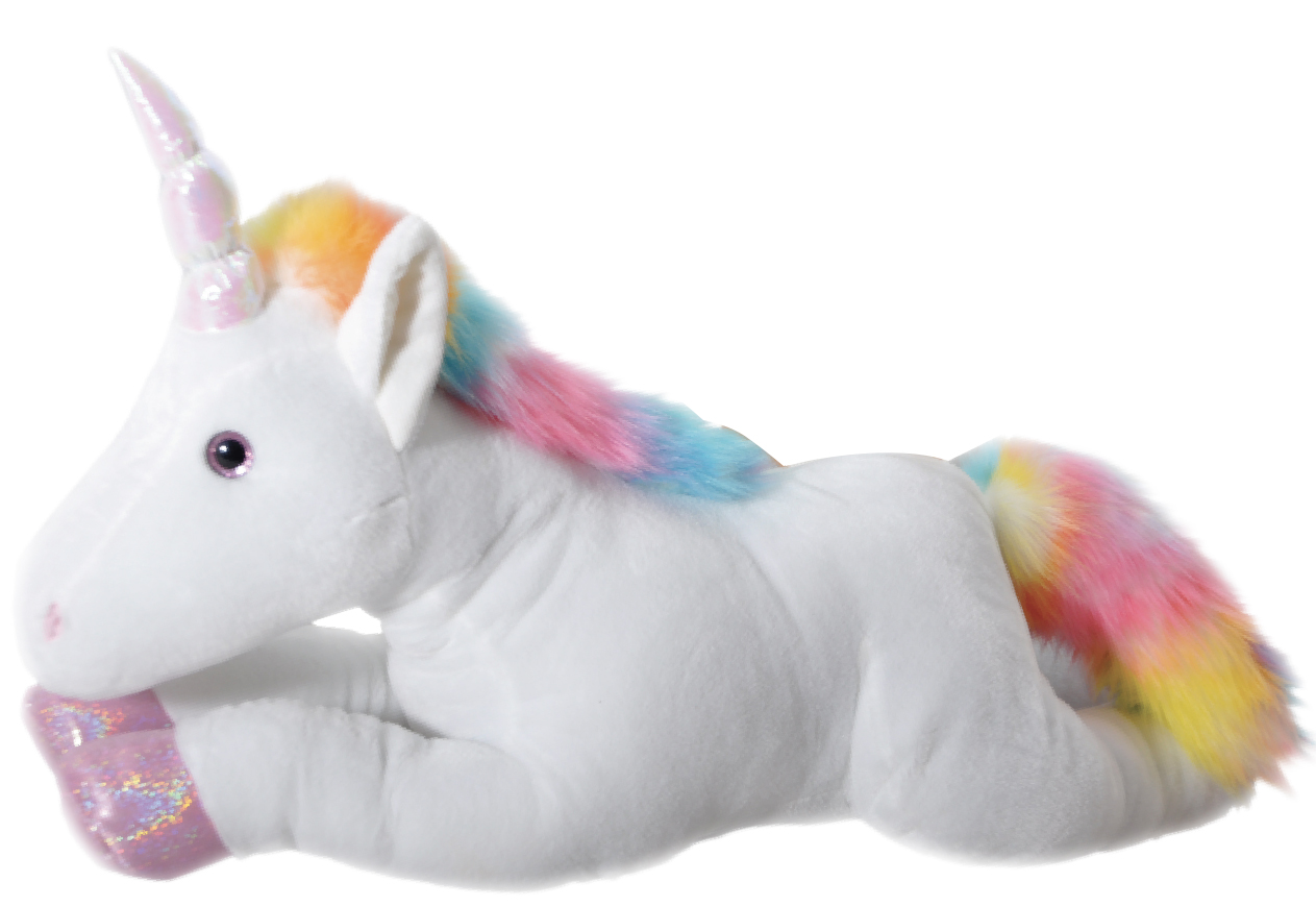 "The Petting Zoo: 36"" Rainbow Unicorn"